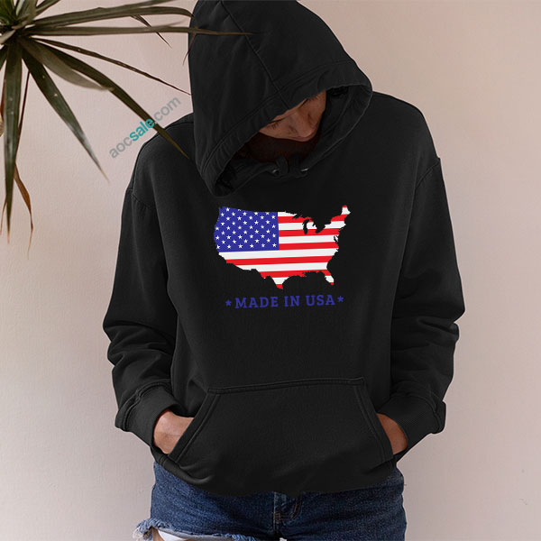 Map Made In Usa Hoodie