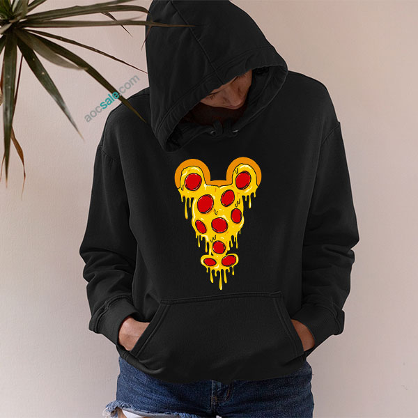 Mickey Pizza Hoodie