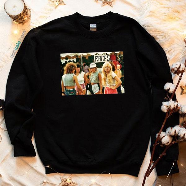 1980s Fashion Sweatshirt