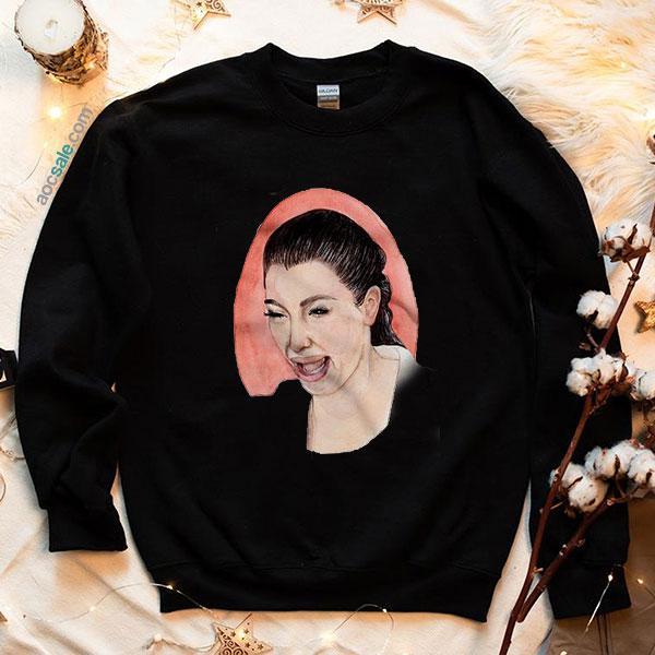 Crying Kim Kardashian Sweatshirt