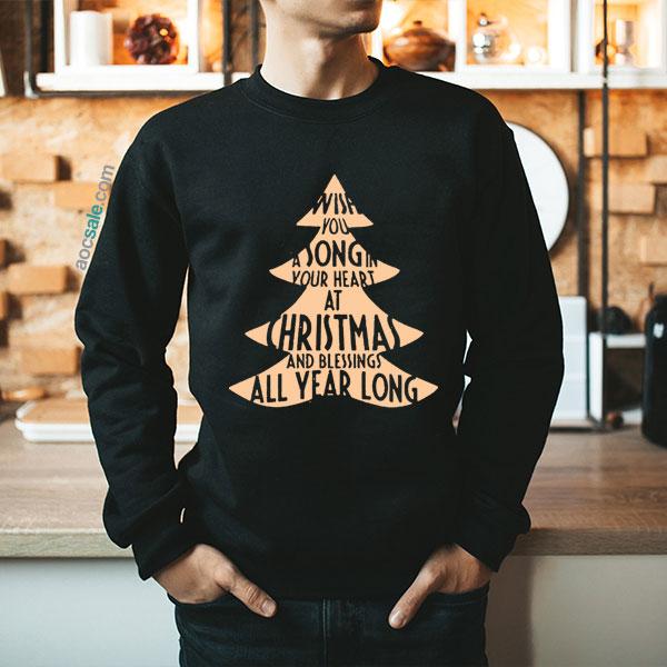 Christmas Quote Sweatshirt
