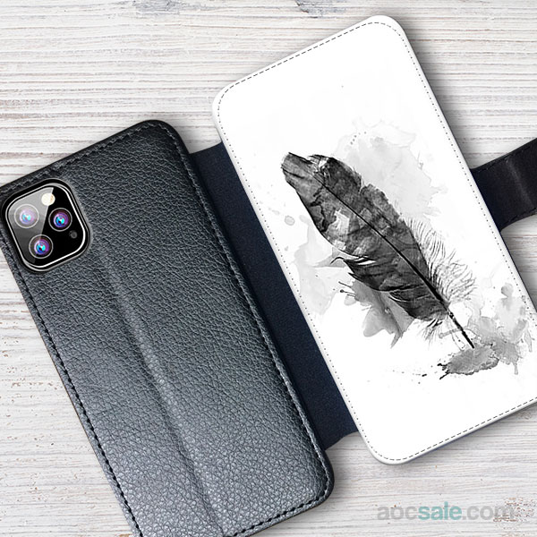 Feather Wallet iPhone Case