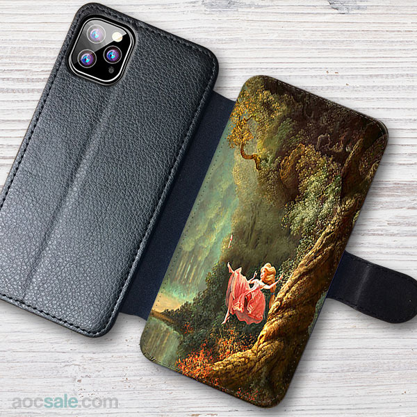 First Time In Nature Wallet iPhone Case