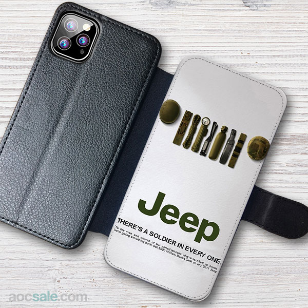 JEEP Wallet iPhone Case