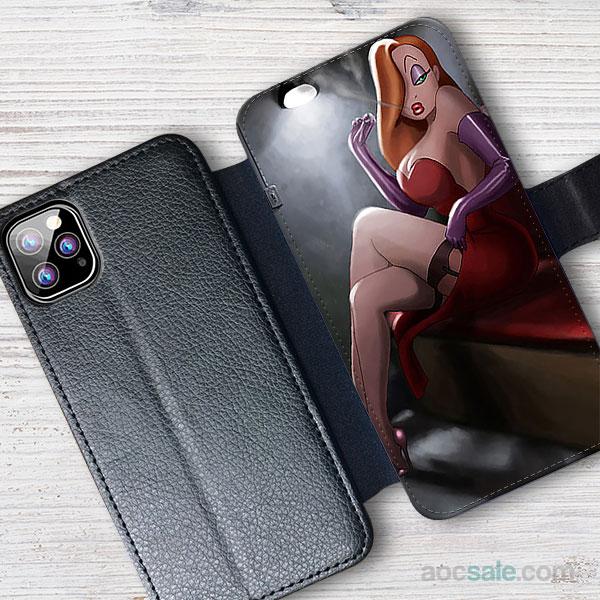 Jessica Rabbit Wallet iPhone Case