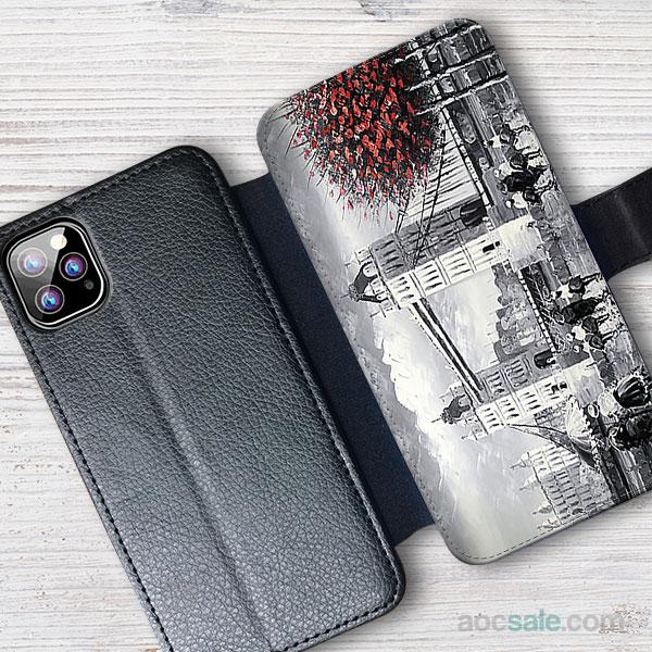 London Tower Bridge Wallet iPhone Case