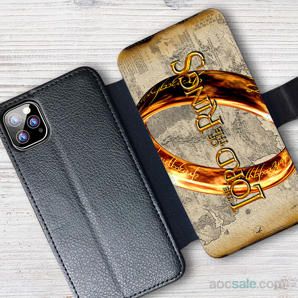lord of the rings Wallet iPhone Case