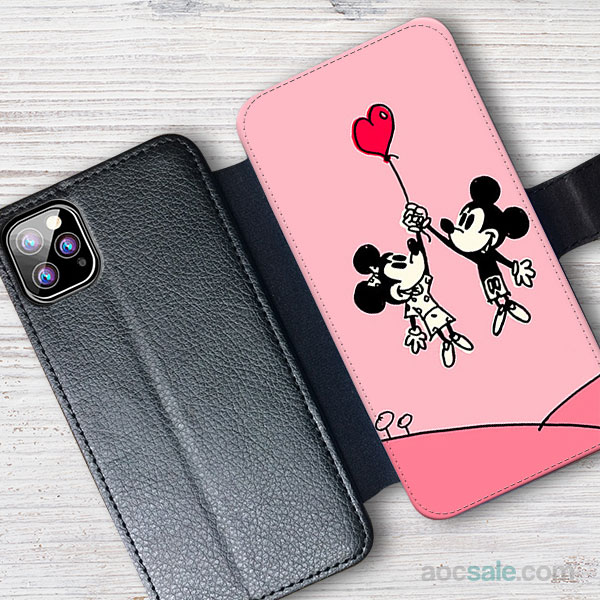mickey and minnie Wallet iPhone Case