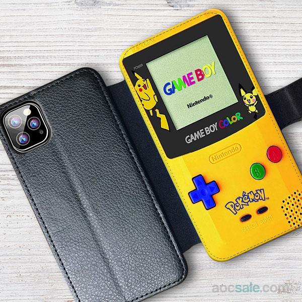 pokemon gameboy Wallet iPhone Case