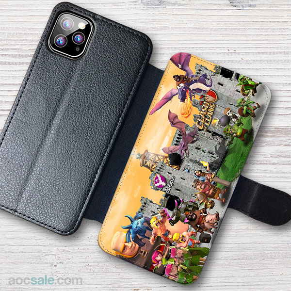 Clash Of Clans Wallet iPhone Case