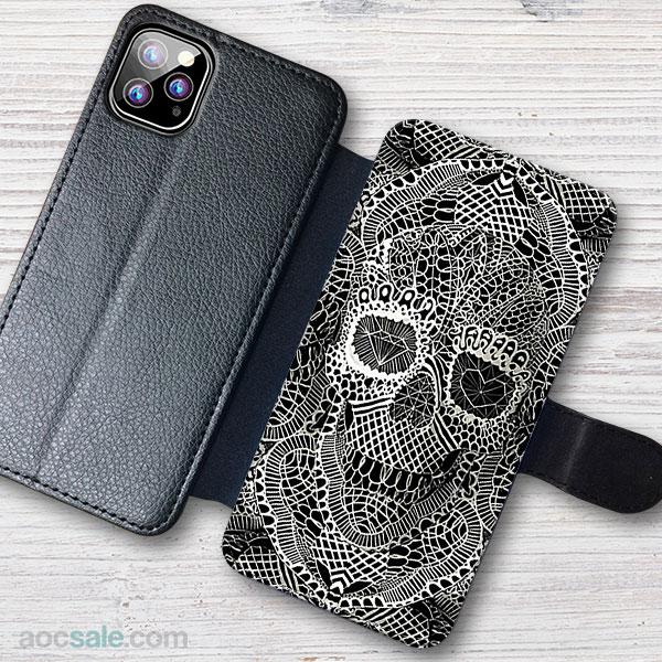 Skull Wallet iPhone Case