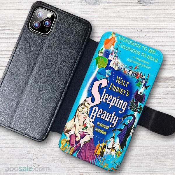 Sleeping Beauty Wallet iPhone Case