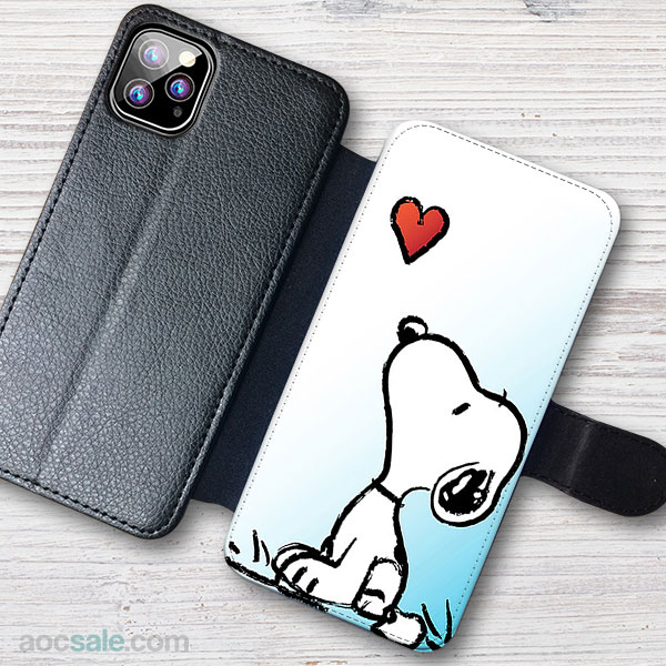Snoopy Wallet iPhone Case