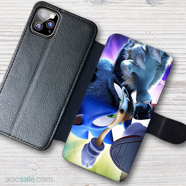 Sonic The Hedgehog Wallet iPhone Case
