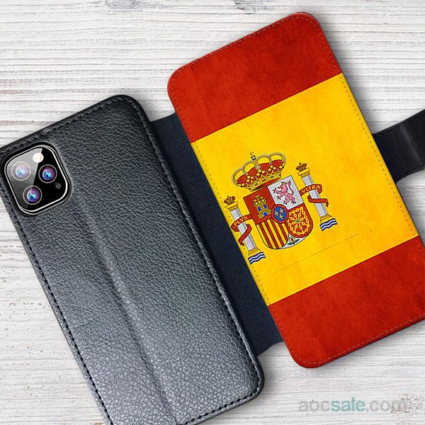 Spain Wallet iPhone Case