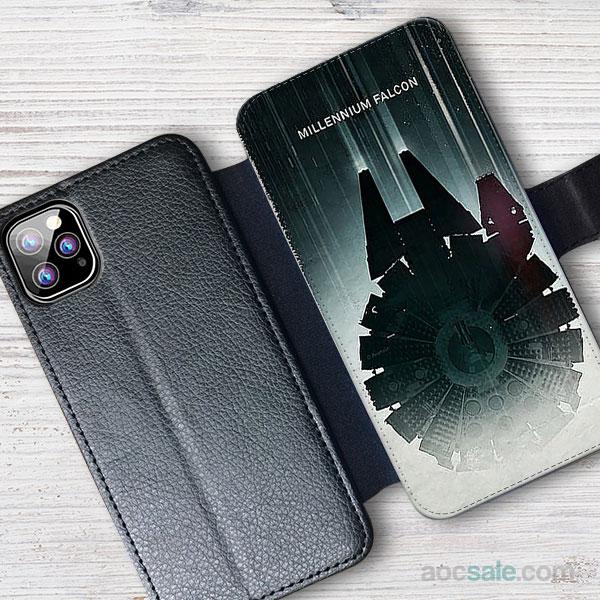 Millenium Falcon Wallet iPhone Case