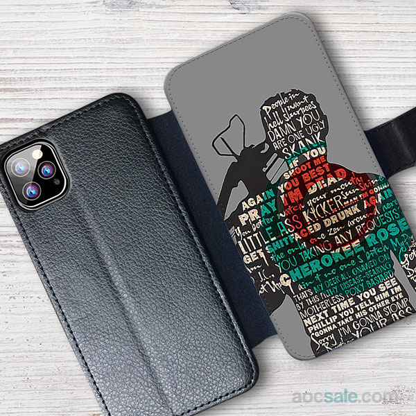 Daryl Dixon Quotes Wallet iPhone Case