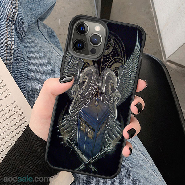 Doctor who wings iPhone Case